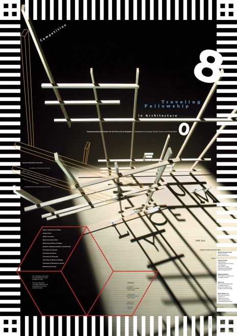 Lyceum competition, Traveling Fellowship in Architecture 08, sitodruk, 2008